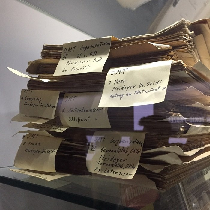 Матеріали справ обвинувачуваних на Нюрнберзькому процесі