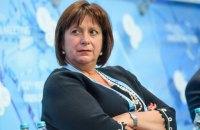 Яресько заявила о влиянии обвала рубля на курс гривны