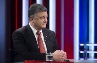 Порошенко привітав Макрона з перемогою на виборах президента Франції