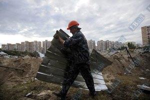 КГГА: скандальная стройка на Троещине остановлена