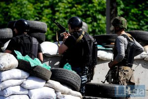 У Слов'янську терористи обстріляли блокпости Нацгвардії з храму