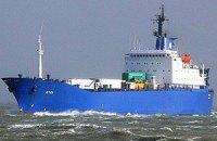 """Шесть украинских моряков вместе с капитаном остались работать на судне """"Этель"""""""