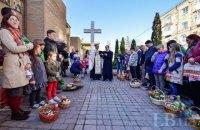 У Києві біля храмів на Великдень чергуватимуть 1500 правоохоронців