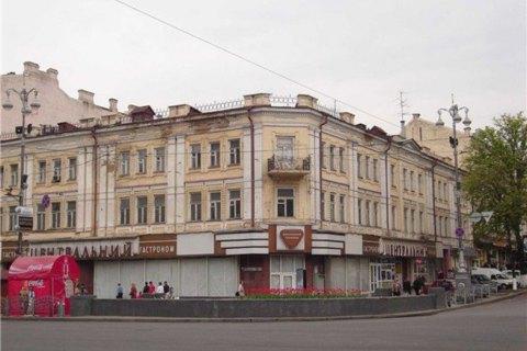 На Крещатике построят многоэтажку на месте сгоревшего Центрального гастронома