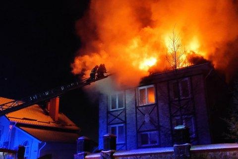 За прошедшие сутки в Украине произошло 110 пожаров