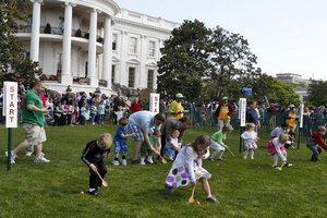 В гости к Обаме на Пасху пришли 30 тысяч человек