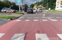 У Львові BMW збив 21-річного водія електросамоката, чоловік у реанімації