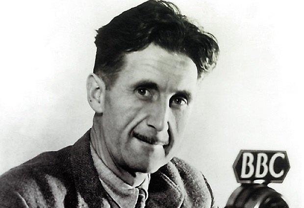 Джордж Оруэлл, кадр фото 1940 года