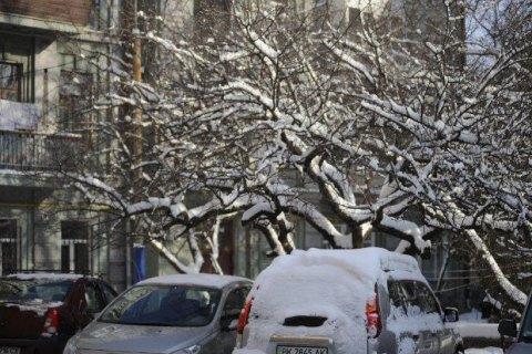 Завтра в Києві до -6 градусів