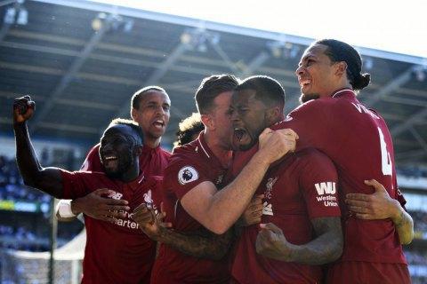 """""""Ліверпуль"""" встановив клубний рекорд в Англійській Прем'єр-лізі"""