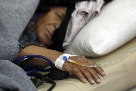 У Ємені кількість випадків холери сягнула 480 тисяч