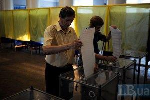 В Донецкой области голосуют уже в 9 из 22 округов