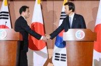 Японія і Південна Корея врегулювали історичну суперечку про сексуальне рабство