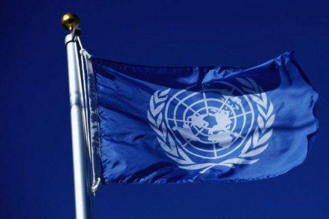 ООН передала в ОРЛО 41 тонну гумдопомоги
