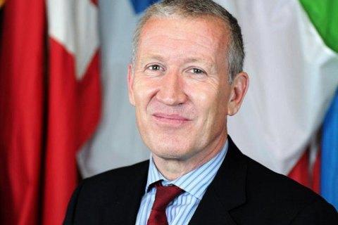 Британець Етерінгтон вступив на посаду заступника голови місії ОБСЄ в Україні