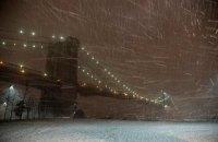 В Нью-Йорке ввели режим ЧП из-за снежной бури