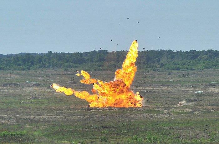 ВЧерниговской области состоялись тестирования беспилотника ударного действия