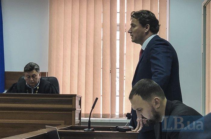 Валентин Рибін та Кирило Легких - адвокати Щеголєва