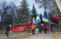Марш слави УПА на Луганщині завершився колотнечею з комуністами