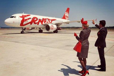 Киев принял 1-ый рейс итальянского лоукостера изМилана