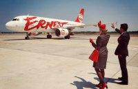 Лоукостер Ernest Airlines начнет летать из Киева и Львова в Италию