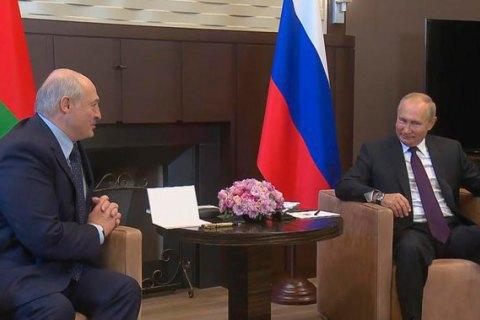 Лукашенко снова собрался на встречу с Путиным