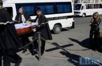 В Одесі пройшов похорон активіста Майдану Андрія Бірюкова