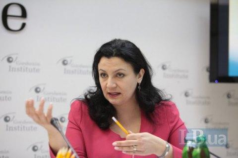 Климпуш-Цинцадзе: работа по интеграции Украины в ЕС и НАТО поставлена на паузу
