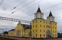 В Черниговской области обвалилась часть ж/д вокзала