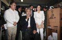 Ленин Морено лидирует на выборах президента Эквадора