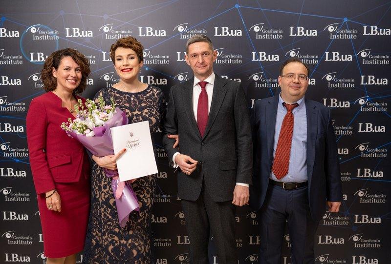 Замглавы Администрации президента Виталий Ковальчук с супругой Натальей