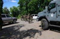 В Красногоровку, которая пострадала от обстрела, направили спецназ КОРД