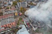 В Одессе произошел пожар на фабрике сладостей