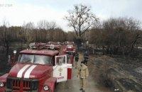 Через пожежі в зоні відчуження постраждало 11,5 тис. га заповідника