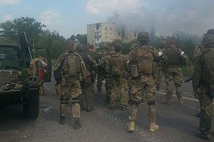 14 бійців отримали поранення в передмісті Донецька