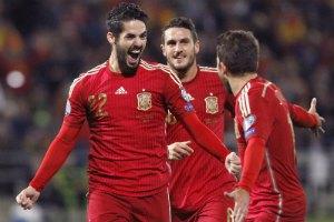 Іспанія на гру проти України добиралася потягом