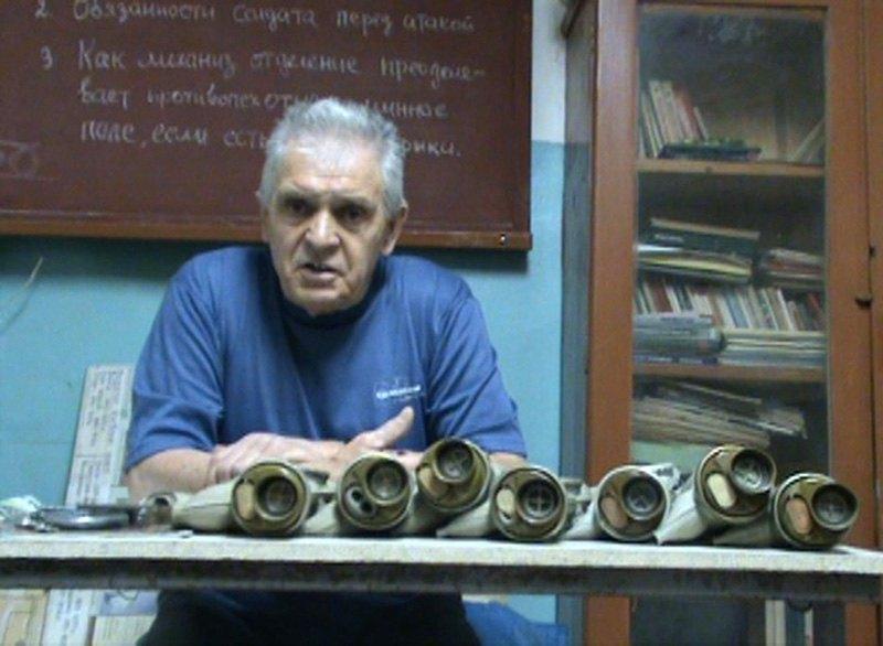 Николай Ридный (Скрин видео), Убежище