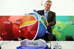 Україна може відмовитися від проведення Євробаскету-2015