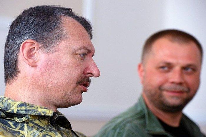 Игорь Гиркин и Александр Бородай (справа)