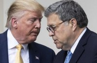"""Генпрокурор США пішов у відставку після суперечок із Трампом щодо """"махінацій"""" на виборах"""