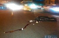 """В Киеве """"маршрутка"""" сбила насмерть пешехода-нарушителя"""
