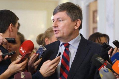 Герасимов розповів, про що голови фракцій говорили з президентом