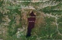 В Монголии произошло сильное землетрясение