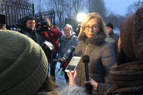 Денисова предложила отправить трех раненых украинских моряков на лечение в третью страну