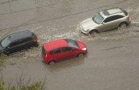 Ливень затопил центр Одессы