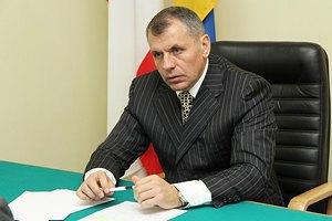 Спікер кримського парламенту перебуває в захопленому будинку, - Могильов