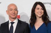 Колишня дружина засновника Amazon за умовами розлучення отримала 4% акцій компанії вартістю $35 млрд