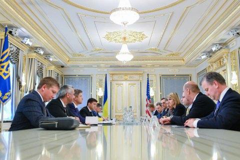 Зеленский и Коболев обсудили с министром энергетики США перспективы поставок сжиженного газа