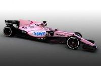 В Формуле-1 появились розовые автомобили