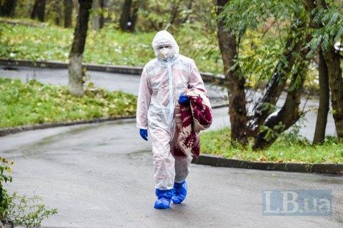 В Киеве за минувшие сутки госпитализировали 112 пациентов с ковидом - это самый высокий показатель за время эпидемии